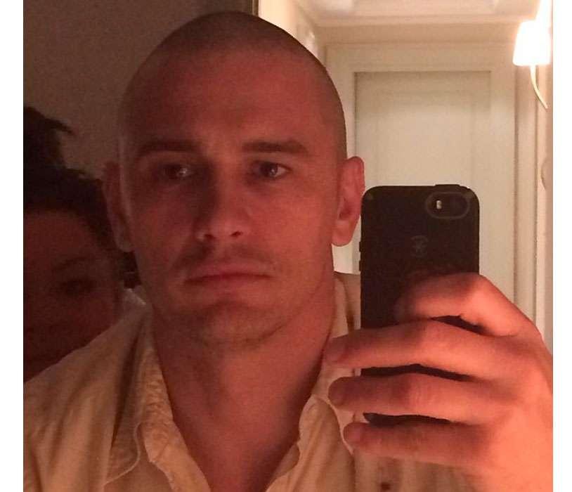 a60c2d86b1 Metamorfosis: James Franco rapa su cabeza y comparte fotos | Confirmado